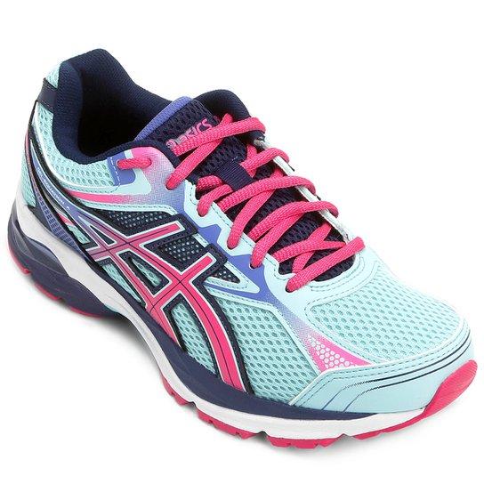 d1f54daccd287 Tênis Asics GEL Equation 9 Feminino - Azul e Pink - Compre Agora ...