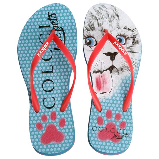 0290d43496 Chinelo Colcci Love Pets - Compre Agora
