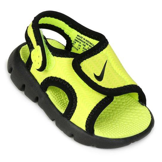 324d6e974 Sandália Infantil Nike Sunray Adjust 4 - Verde Limão