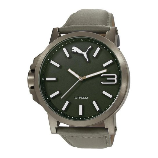 46e218c2036 Relógio Puma Ultrasize Leather - Compre Agora