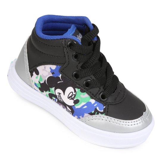 c9c7467e3ff Tênis Infantil Cano Alto Disney Mickey Masculino - Compre Agora ...