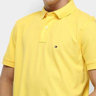 26abc20314 Camisa Polo Tommy Hilfiger Regular Masculina