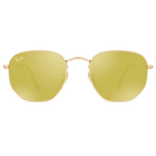 da515d98d7115 Óculos de Sol Ray Ban Hexagonal RB3548N 001 93-51 Feminino - Compre ...