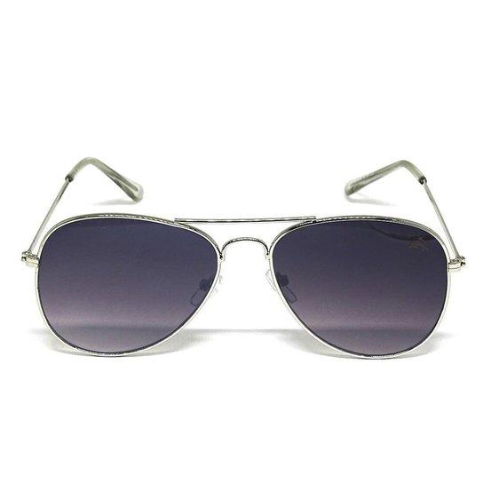 67b2a2826 Óculos De Sol Aviador Cayo Blanco - Prata+Preto