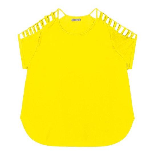 356e532a6 Blusa Secret Glam - Amarelo