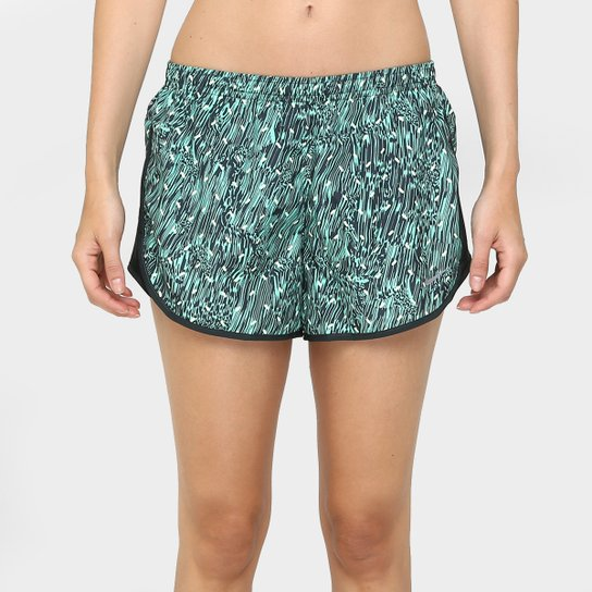 Short Nike Dry Tempo Feminino - Verde Claro+Marinho eed836281ea40