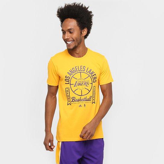 c6f2d8a273819 Camiseta Adidas NBA Los Angeles Lakers - Compre Agora