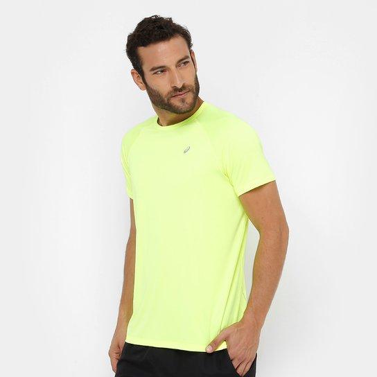 cadc9f95c49ff Camiseta Asics Core Pes Ss I Masculina - Amarelo - Compre Agora ...