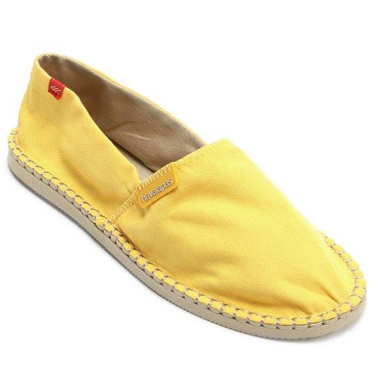 90b2326af2561 Alpargata Havaianas Origine III - Amarelo - Compre Agora   Zattini