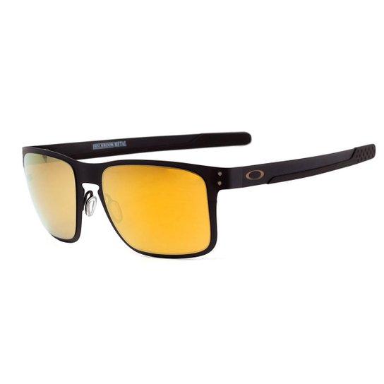 Óculos Oakley Holbrook Metal Matte Black Masculino - Amarelo ... 8a9cfc1d44