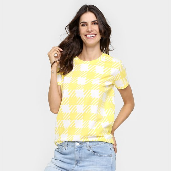 77e5d659dff Camiseta Lacoste Quadriculada - Compre Agora