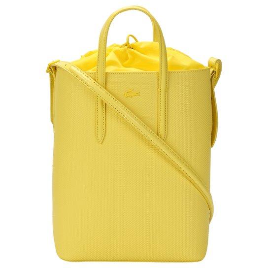 Bolsa Couro Lacoste Tote Bag Vertical Feminina - Compre Agora   Zattini 03527086db
