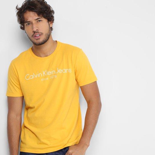 9a1b0bdbec185 Camiseta Calvin Klein CKJ Masculina - Compre Agora   Zattini