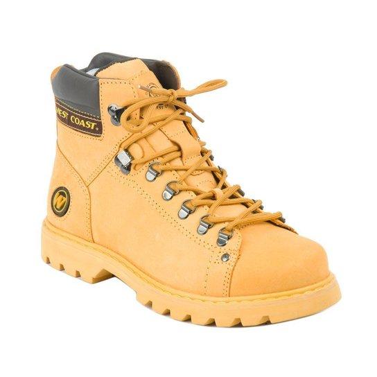 fec3e679a7 Bota West Coast Adventure Worker Classic - Amarelo - Compre Agora ...