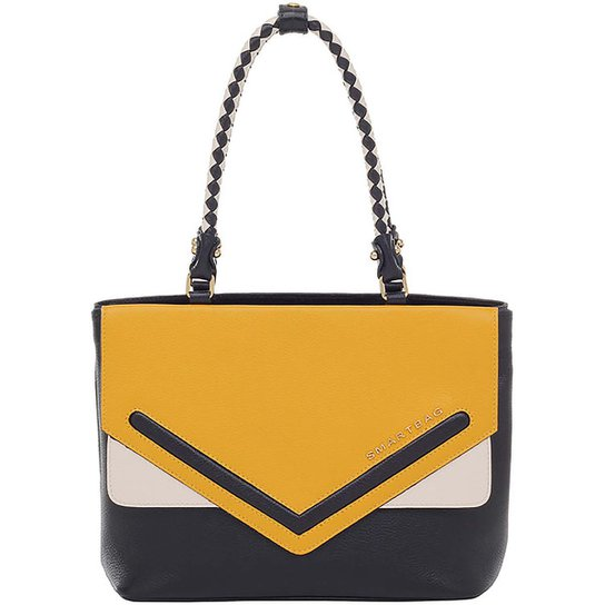 35779da70 Bolsa Couro Smartbag Tiracolo - Amarelo - Compre Agora | Zattini