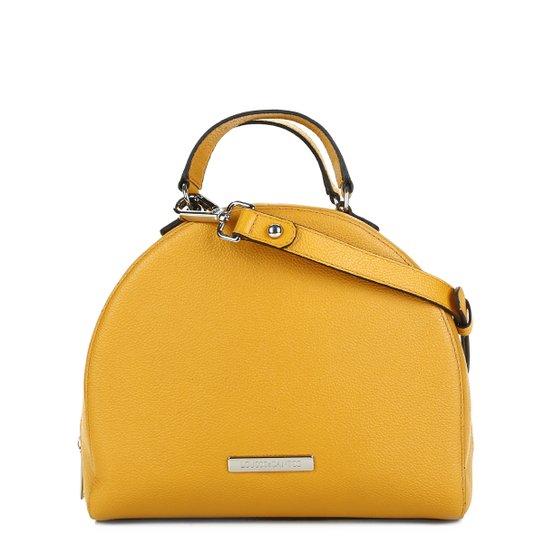 366fd119f Bolsa Loucos & Santos Handbag Redonda Alça Transversal Feminina - Amarelo