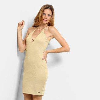 58ee44219 Vestido com Lurex Triton Feminino