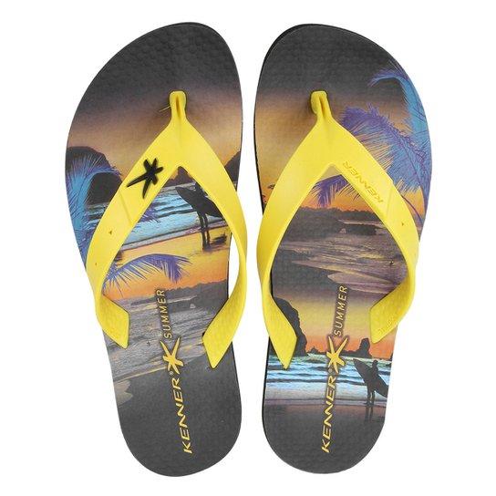 1b639911b1fd7 Chinelo Kenner Summer Surf Masculino - Compre Agora