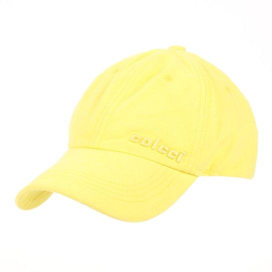 2a606c5ba Boné Colcci Strapback Clássico Bordado Aba Curva Masculino - Amarelo
