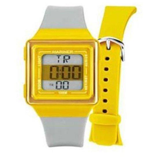 c7e96191716 Relógio Feminino Mariner Troca Pulseira Hb 8G - Amarelo - Compre ...