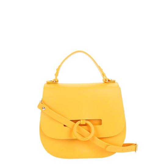 0564969173 Bolsa Petite Jolie Flap Saddle Feminina - Amarelo - Compre Agora ...