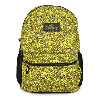 Mochila Infantil Pacific Simpsons Faces Masculina 421f07589f7