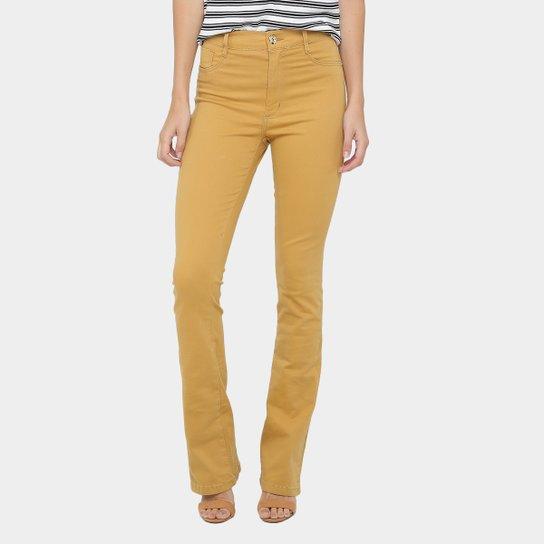Calça Flare Sawary Color Cintura Alta Feminina - Compre Agora   Zattini 01179765b5
