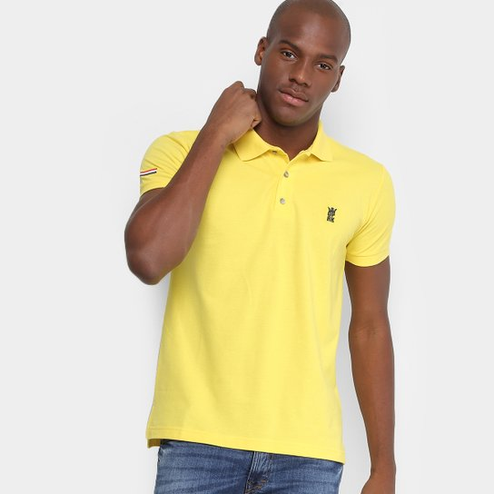 1b5ba48beea Camisa Polo Opera Rock Piquet Bordada Masculina - Compre Agora