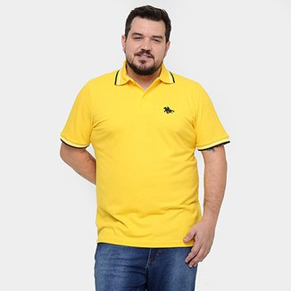 6ef44cca225 Camisa Polo RG 518 Plus Size Frisos