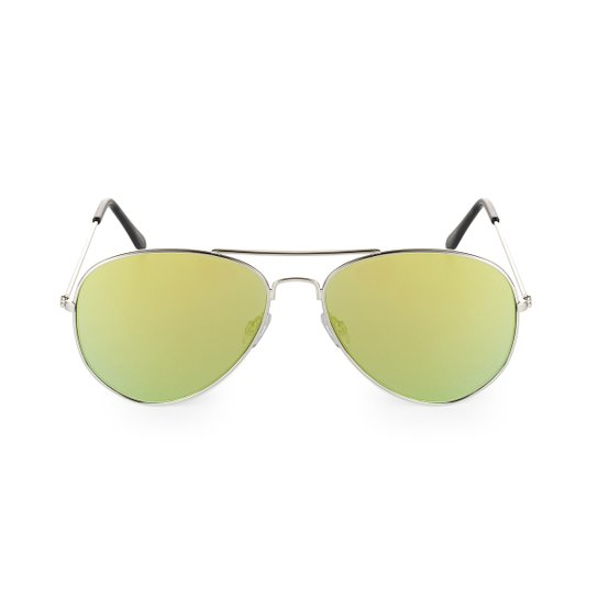 6872614b7d7ea Óculos Marielas Aviador - Amarelo - Compre Agora   Zattini