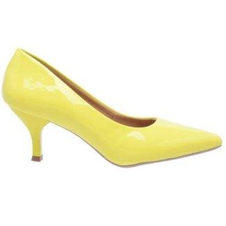 4762527ae Scarpins Feminino Amarelo Tamanho 33 - Calçados | Zattini