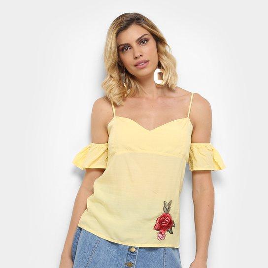 740fcb5dd Blusa Acrobat Patch Rosa Feminina - Compre Agora | Zattini