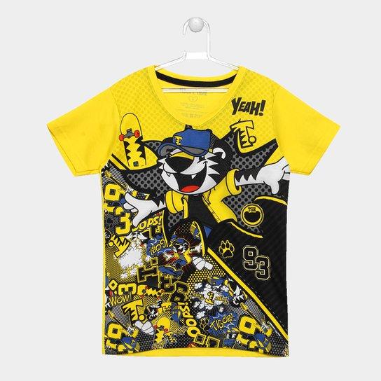c69688492953b Camiseta Infantil Tigor T. Tigre Skate Masculina - Compre Agora ...