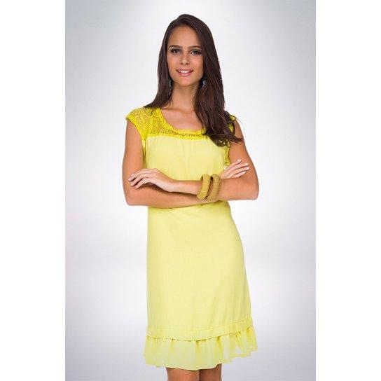 1473c015a Vestido Tecido Liso Mercatto - Compre Agora