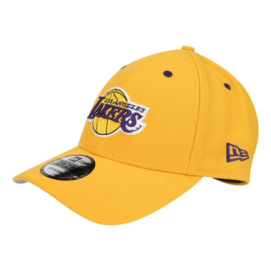 Boné New Era NBA Los Angeles Lakers Aba Curva 940 Hc Sn Official Masculino  - Amarelo 9babce5b383