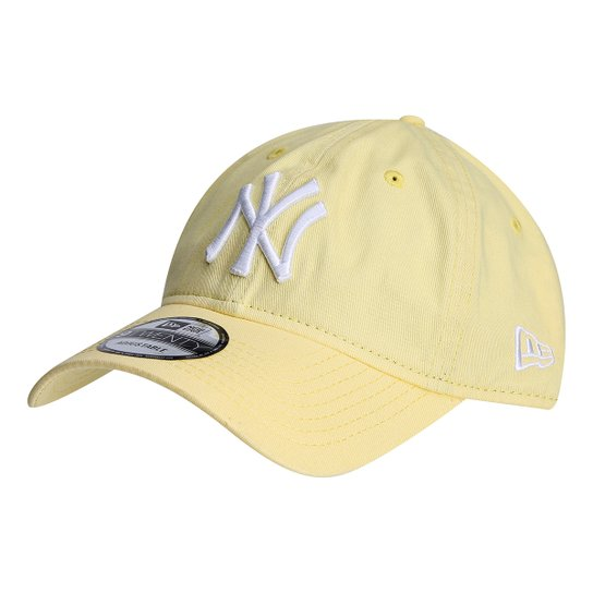 af8015404a8d7 Boné New Era MLB New York Yankees Aba Curva 920 St Pastels - Compre ...