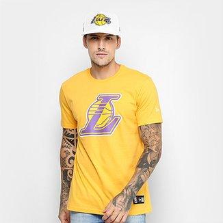 ebfd174d14 Camiseta NBA Los Angeles Lakers New Era Masculina