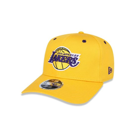 Boné 3930 Los Angeles Lakers NBA Aba Curva New Era - Compre Agora ... fff41c340d5