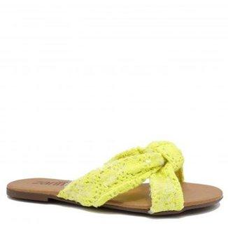 7f6dac389 Rasteira Zariff Shoes Crochet Feminina