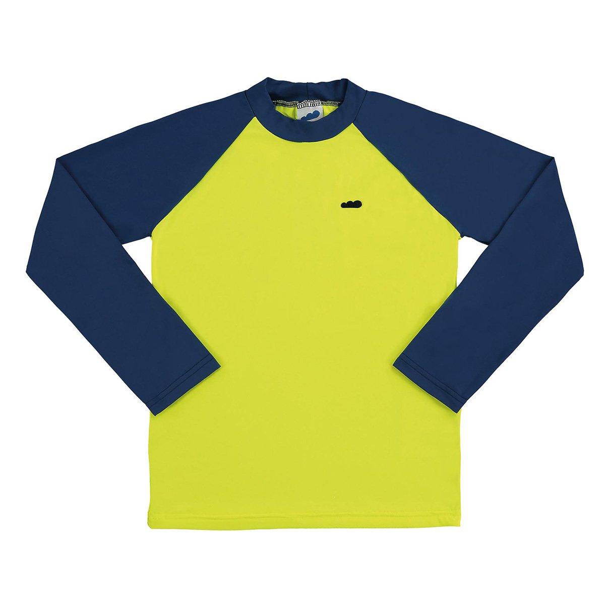 Camiseta Infantil Marlan Proteção UV Básica Manga Longa Masculina