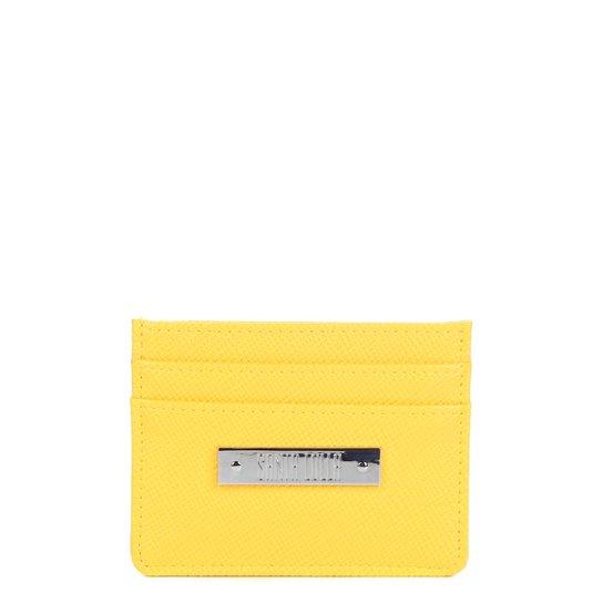8f0fbdffc Carteira Santa Lolla porta Cartão Feminina - Amarelo