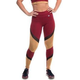 af42ce978 Legging com Proteção Solar Maxx Gold Sandy Fitness