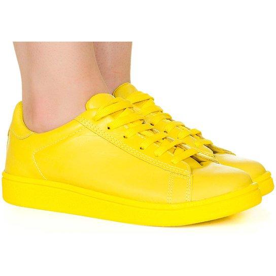 662d1f78890 Tênis Taquilla Monocolor - Amarelo - Compre Agora