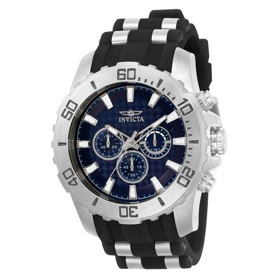 eae27e1d2ad Relógio Invicta Analógico Pro Diver - 22559 Masculino - Prata e ...