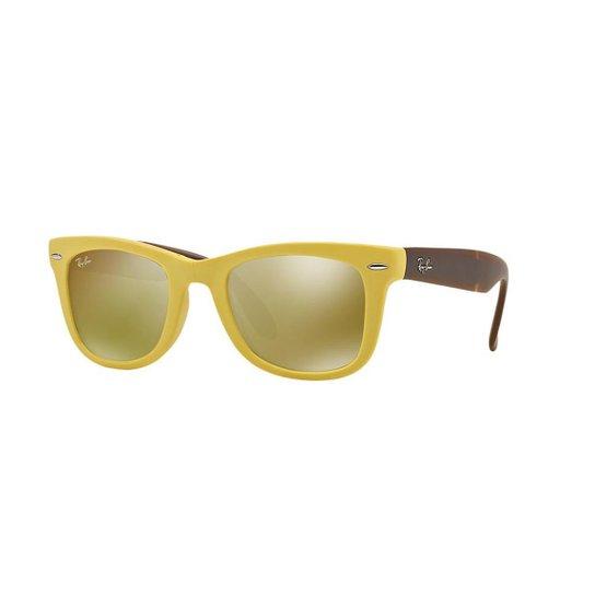 Óculos de Sol Ray-Ban RB4105 Original Wayfarer Dobrável - Compre ... 06ff4e06c3