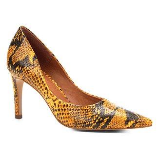 7a420ada80 Scarpins Shoestock Feminino Amarelo - Calçados