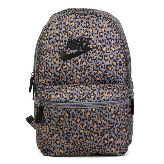 d5abd4a08 Mochila Nike Heritage AOP - Cinza e Amarelo | Zattini