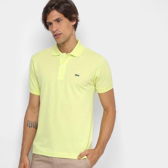217b2da7e84ce Camisa Polo Lacoste Piquet Original Masculina - Verde Limão - Compre ...