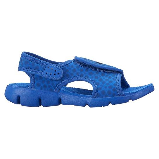 526b3813a28 Sandália Nike Sunray Adjust 4 Juvenil - Azul e Azul claro - Compre ...