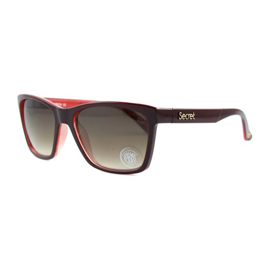 81cc7f8ef728d Óculos de Sol Secret Sophia Polarizado - Vinho - Compre Agora   Zattini
